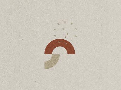 Fungus mark minimal design branding vector modern geometric nature sign symbol logo mark icon marshroom fungus
