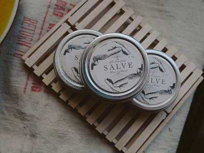 Salve Labels salve labels essential oils handcrafted apothecary waxwane