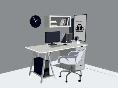 Workoholic Room