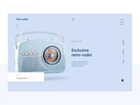 Retro radio Website