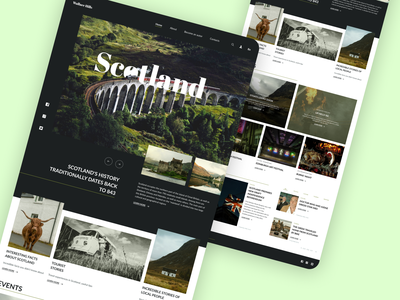 Blog. Scotland web webdesign uiux news scotland blog concept design ux ui design