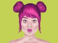 Digital Drawing (portrait)