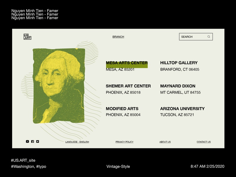 US.ART - Museum in Web (Offices page)