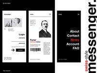 messenger. - UI Design