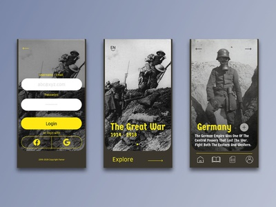 The Great War Dictionary Application