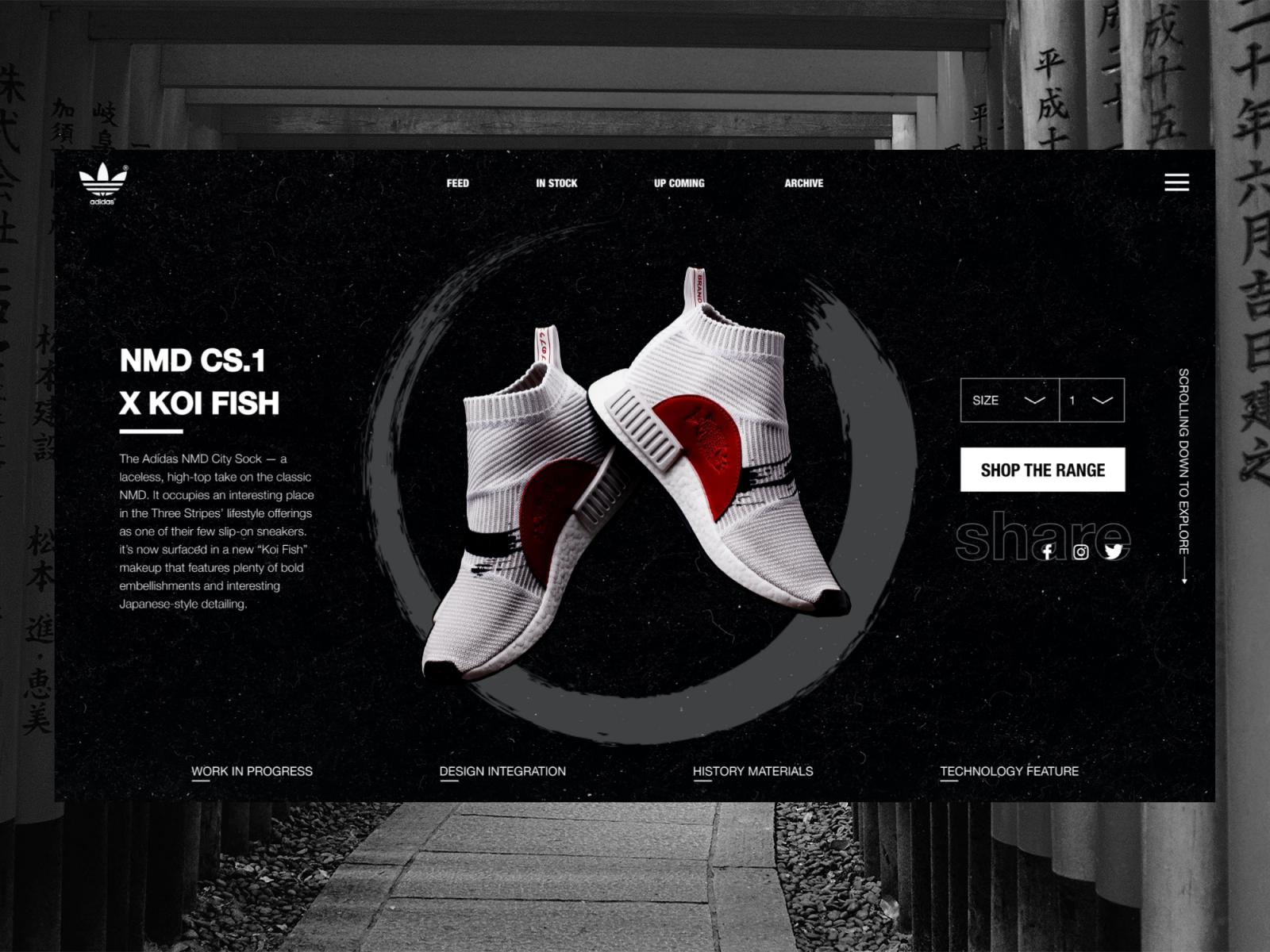 Adidas originals X Farmer - NMD CS1