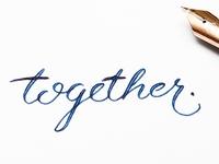 Handlettering - Together