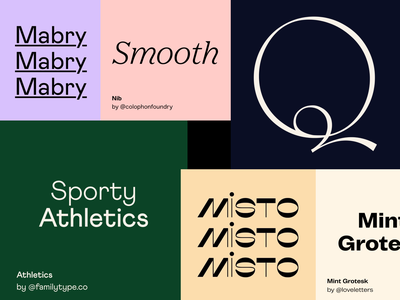 Favourite typefaces series on Instagram type fonts serif sans serif instagram colors palette personal brand instagram template social media branding recommendations brand typography combinations typeface