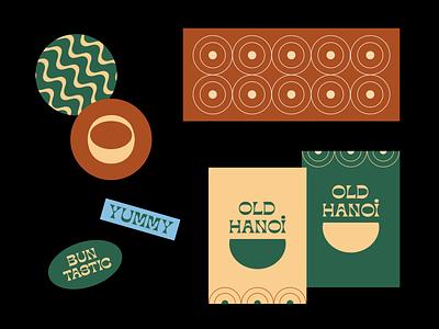 Dribbble Shot 02 brand identity restaurant food typography pattern exploration branding brand