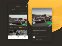 iOS app for renting & sharing cars