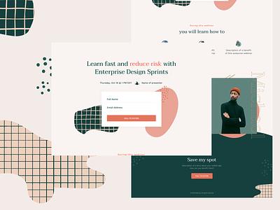 Mason - One Page templates pt.2 app landing iphonex one page site one page pattern landing page marketing typography website ui