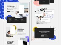 Bits & Pieces - One Page templates pt.3