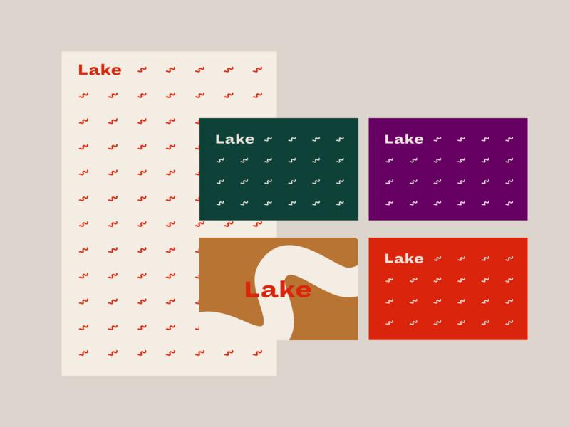 Lake Wealth visual exploration v1 logo design mark exploration identity design finance manual presentation rebranding business card guide brand branding