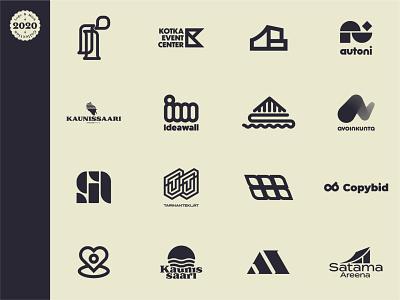 Logofolio - 2020 design illustrator vector mark icon logodesign logo