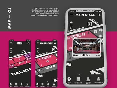 Soul Fest. Mobile UX/UI Design flat logo illustrator icon app ux web ui design branding