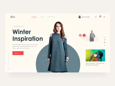 Fashion Slider Idea