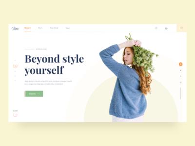 Fashion eCommerce-Header
