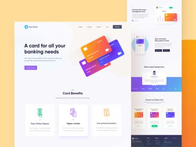Apex- Credit Card Landingpage