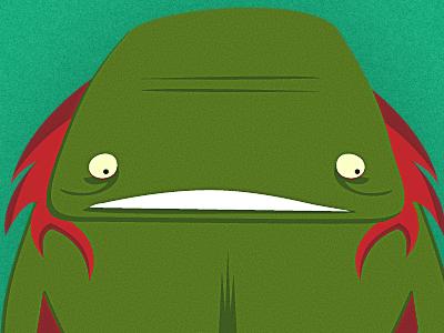 Male Mermaid illustration character design monster mermaid