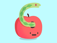 Apple & Snake