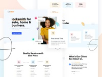 Local Business services delivery logistics web design modern commercial residential automation design creative branding landing page minimal marketing startup corporate agency business