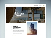 Home Page for Architecture & Interior Company