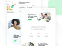 Rebound of Agency Landing Page