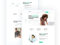 Business & Corporate Landing Page