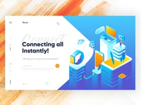 Social Networking Landing Page Exploration.