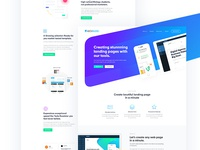 Landing Page for WebPage Builder
