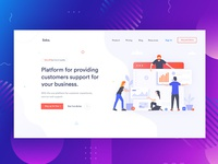 Banner Exploration for Customer Support and Experience.