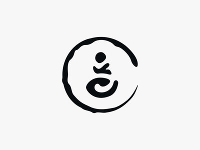 Yoga with Vico - independent yoga teacher 4/4 yoga yoga logo logo enso branding inkscape