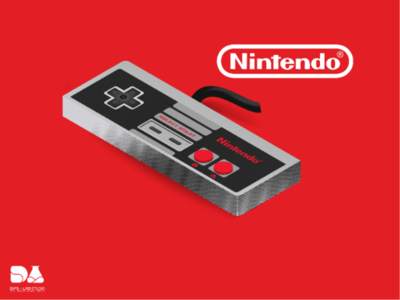 Illustration manette Nintendo