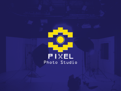 Logo Pixel Photo Studio