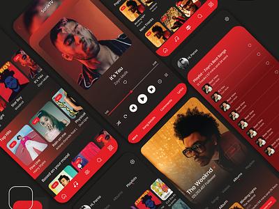 Senik TV Application UI design art userinterface user experience uiux app designer application design application ui app ui music app music player application app ux app design ui design