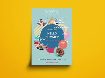 Hello Summer - A3 Poster