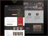 Website homepage for Gibi