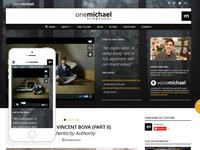 Onemichael - Resposive Website