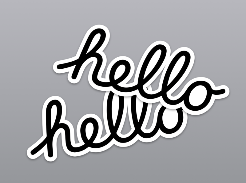 Apple WWDC 2020 Hello Stickers