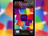 WWDC 2013 iPhone 5 wallpaper