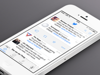 iOS 7 Twitter concept