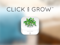 Click & Grow icon