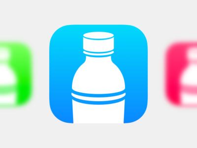 Bottle Icon bottle water ios icon fles