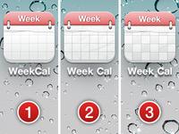 Week Cal icon: Choose!