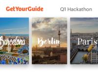 GetYourGuide 2016Q1 Hackathon