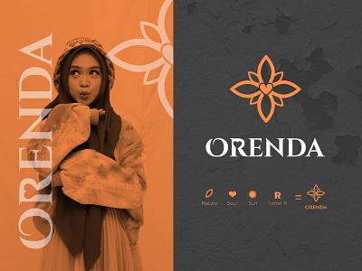 Orenda Brand Identity graphic design logo branding