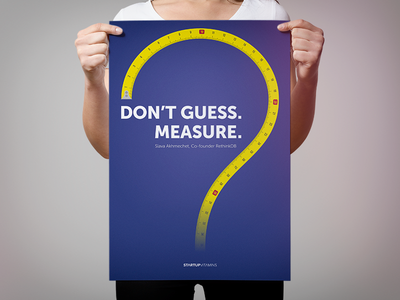 Don't guess. Measure.