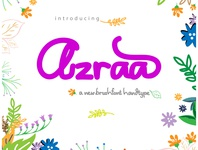 azraa font preview