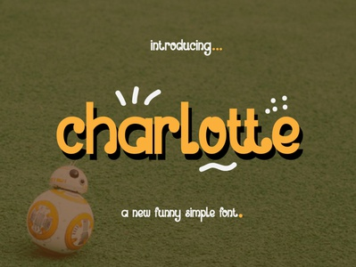 charlotte font preview