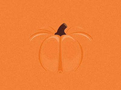 Happy Halloween orange skull pastel minimal editorial digital design flat pumpkin halloween illustration vector